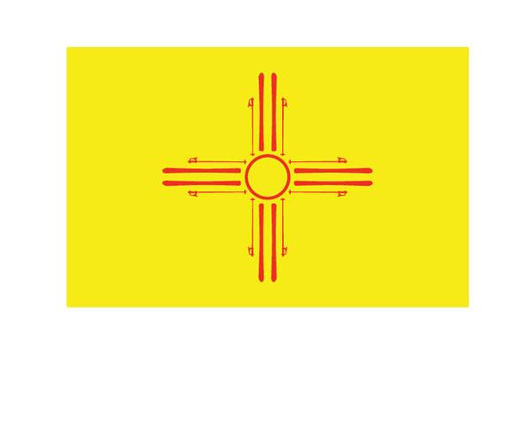Ski New Mexico Zia Sun Symbol Pinterest