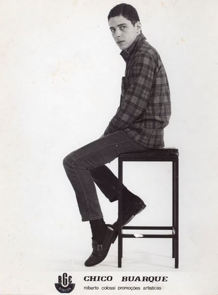 Chico em 1968.