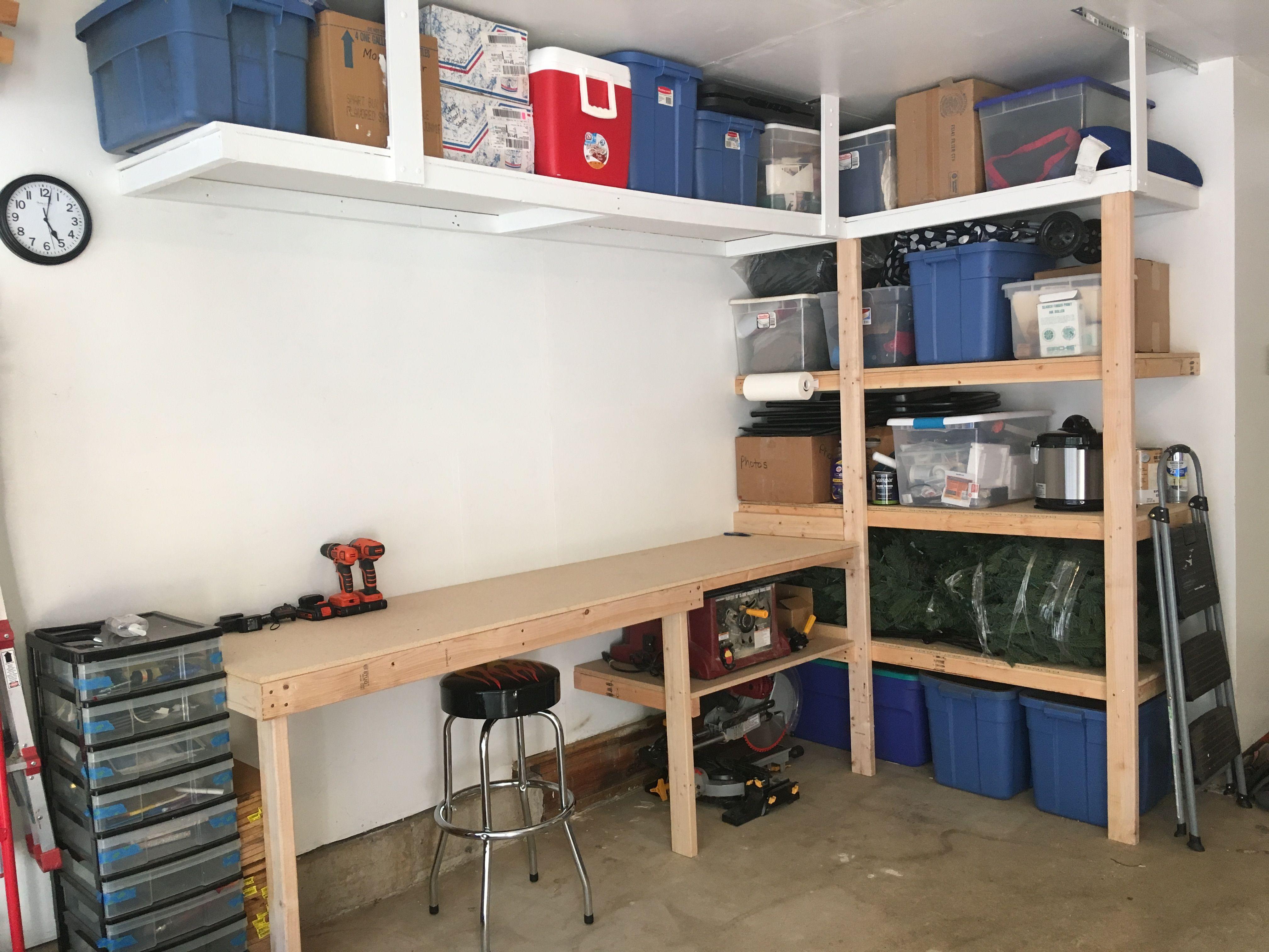 Garage Shop Organization Ideas Part - 50: Workbench Plans, Garage Shop, Garage Storage, Storage Ideas, Bracelets,  Workshop, Organization Ideas, Organizing Ideas, Storage