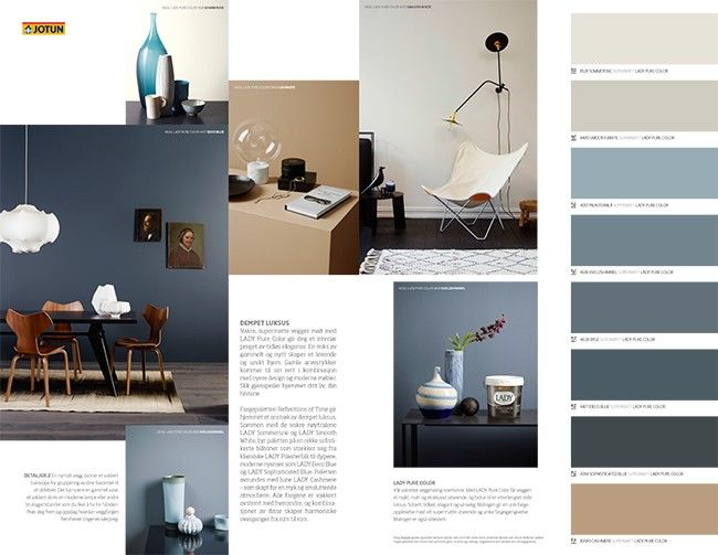 Pin Pa Farge Inspirasjon Latest motif jotun room paint
