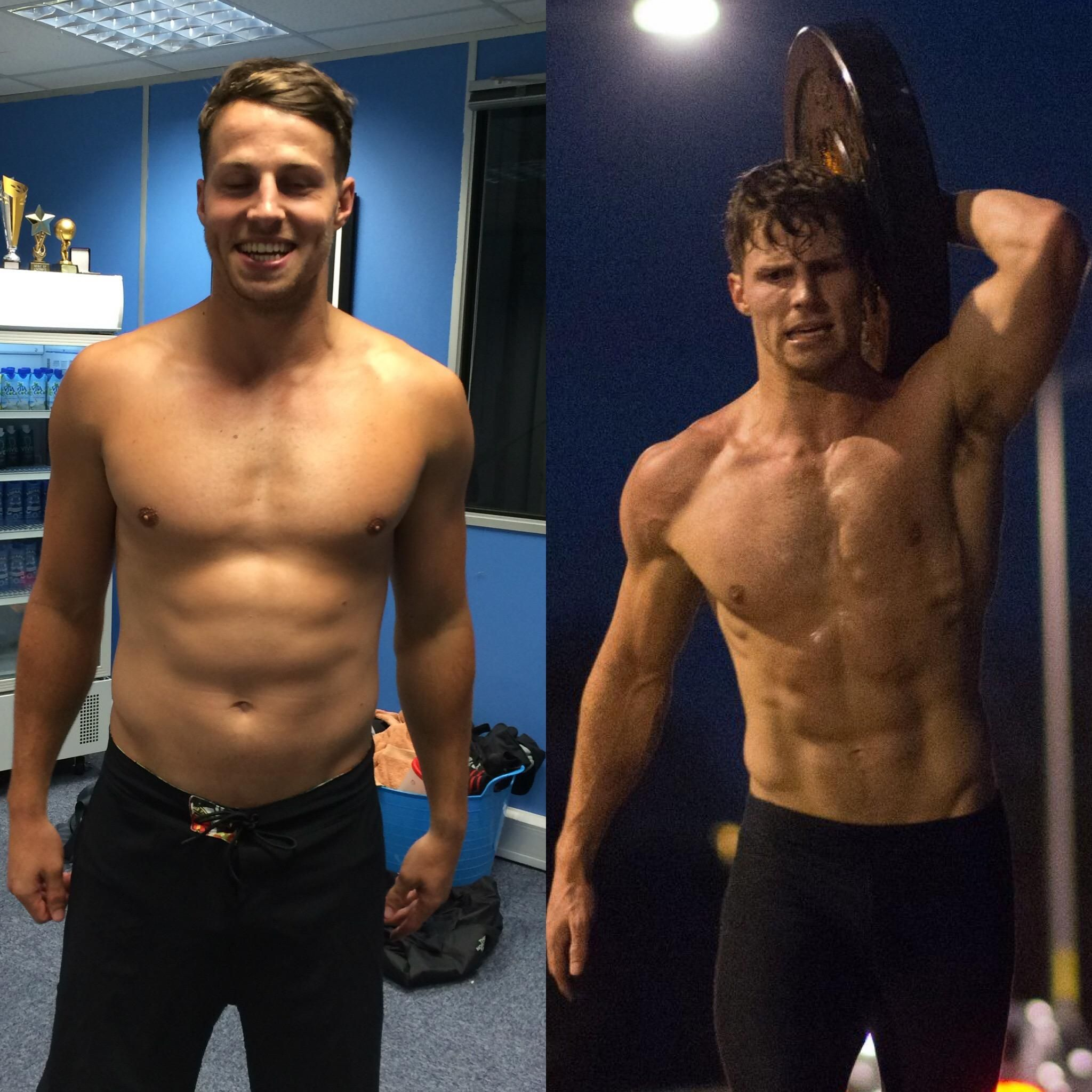 CrossFit Transformation: 10 Months Hard Work #crossfit #fitness ...