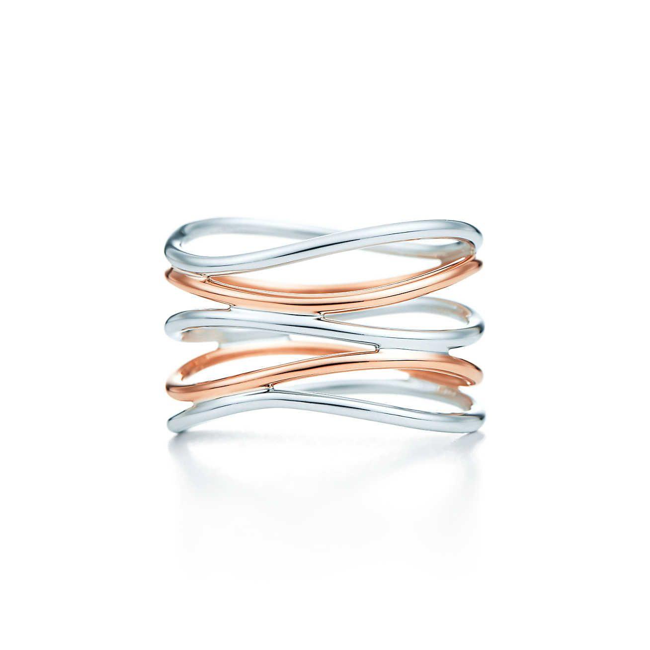 72e196461 Wave Five-row Ring | Accessories | Bling | Fashion, Elsa peretti ...