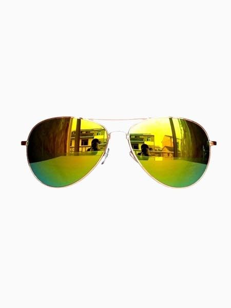 9bfab9c356 Hot Sale Reflector Sunglasses In Golden