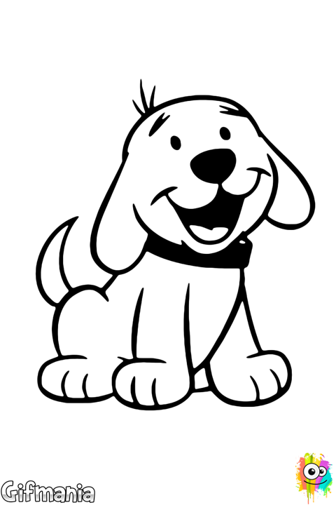 Cachorro Perro Dibujo Baby Wholecloth Puppy Coloring Pages