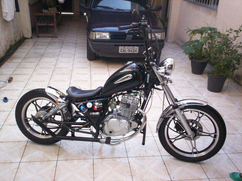 Moto Custom Suzuki Intruder – Idea di immagine del motociclo