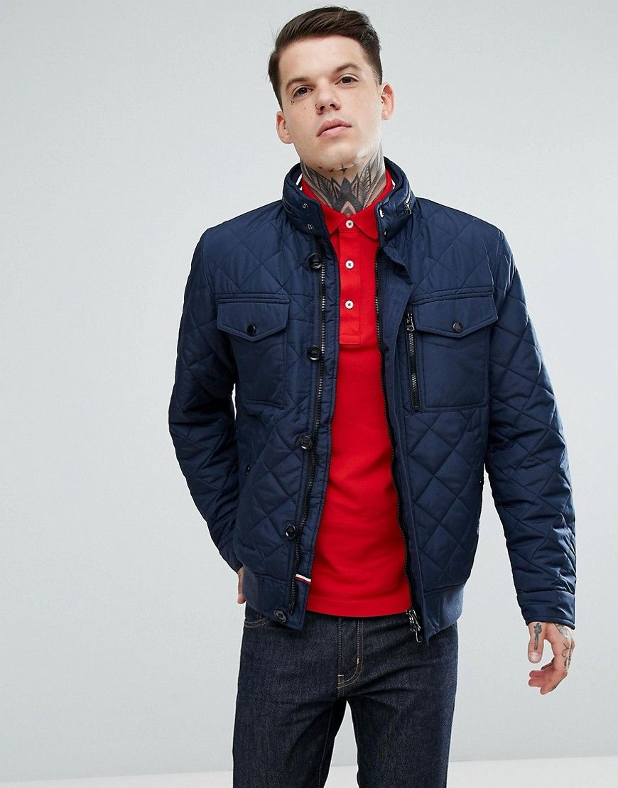 eb7f82400126 Get this Tommy Hilfiger s quilted jacket now! Click for more details.  Worldwide shipping.