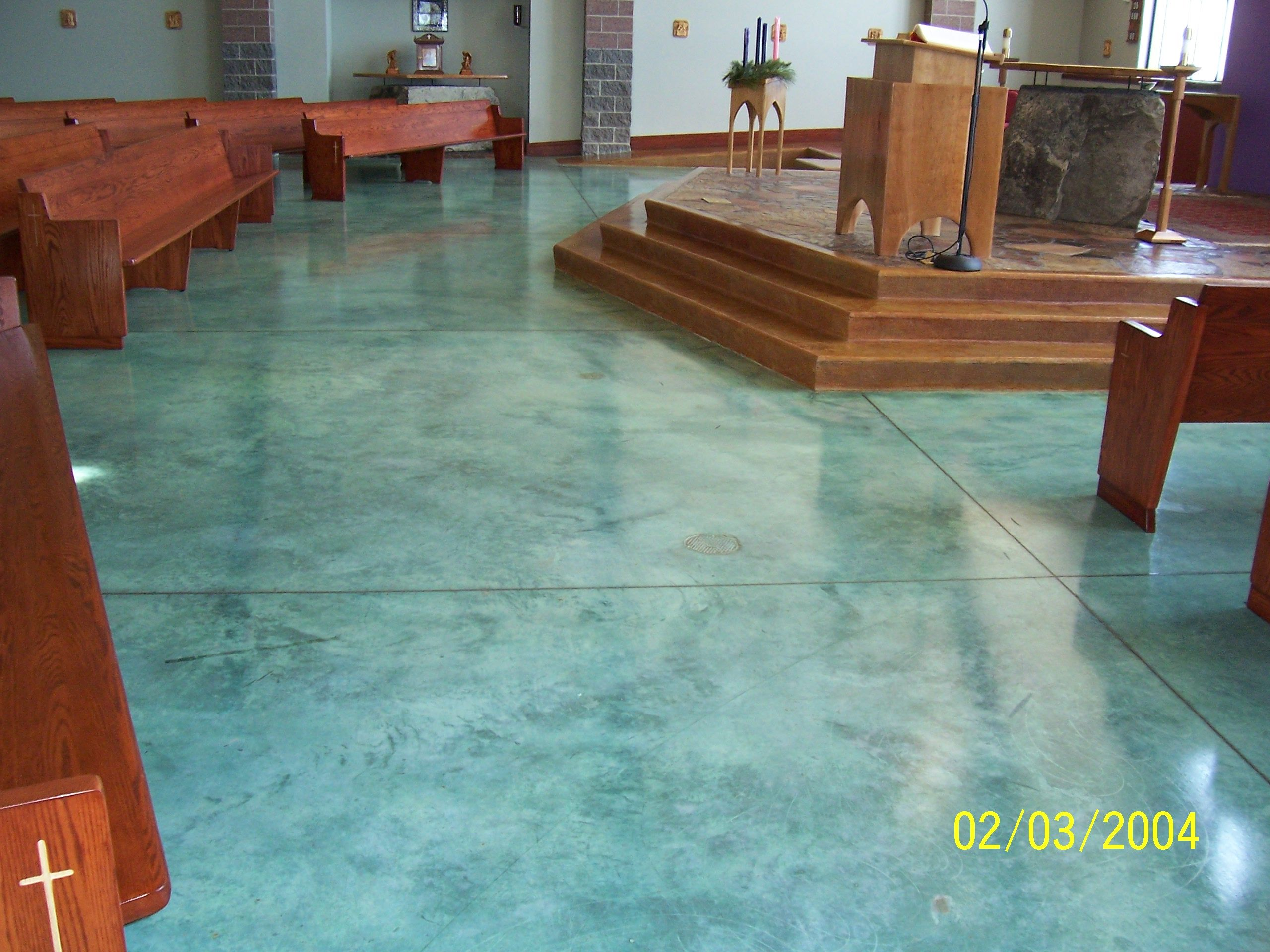Stained concrete gardening ideas pinterest stained for Acid wash concrete floors