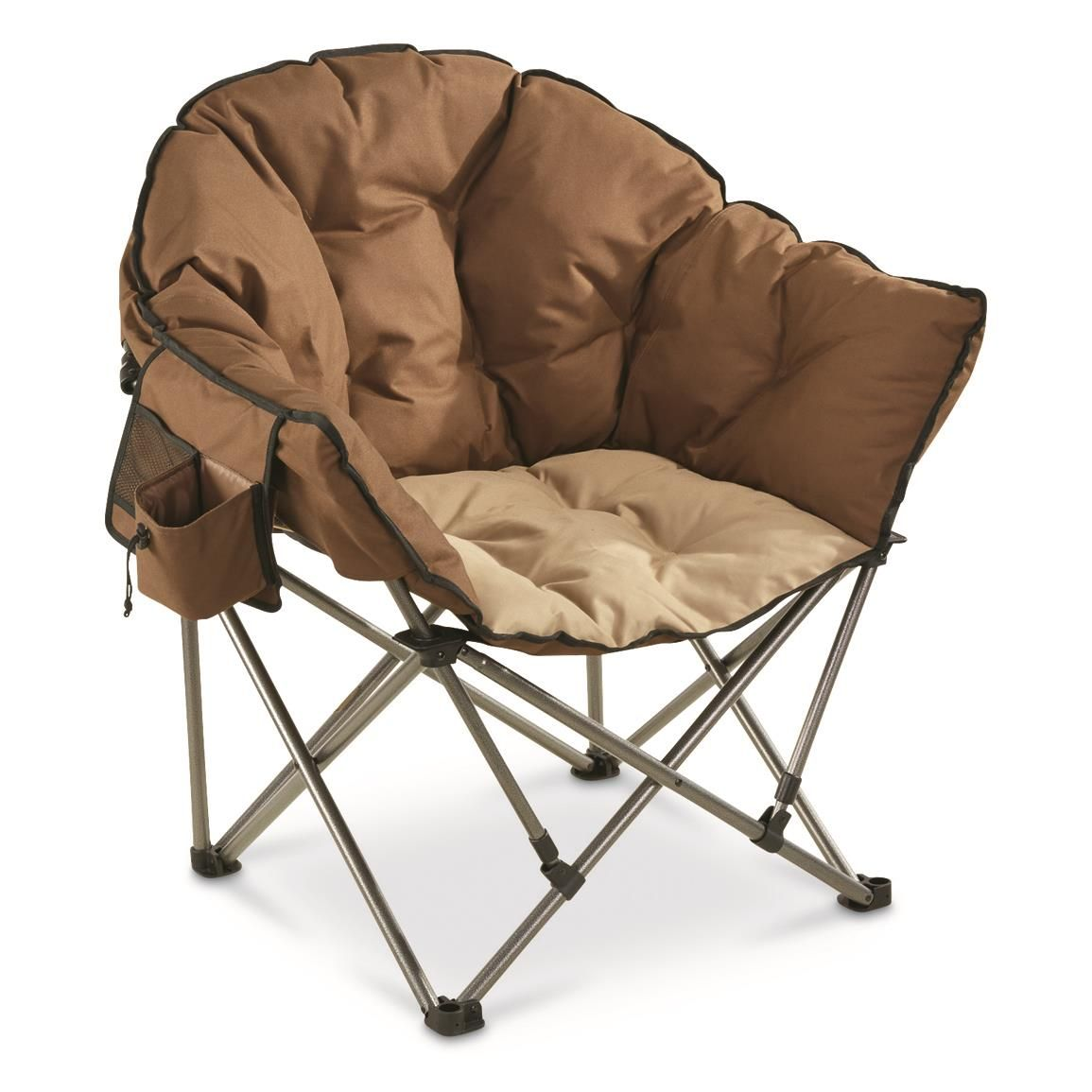 Guide Gear Oversized Club Camp Chair 500 Lb Capacity