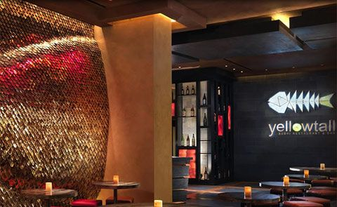 Sushi Restaurant Yellowtail In Het Bellagio Hotel In Las Vegas Top