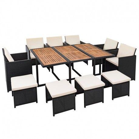Polyrattan Sitzgruppe #estexo #onlineshop #rattanmöbel