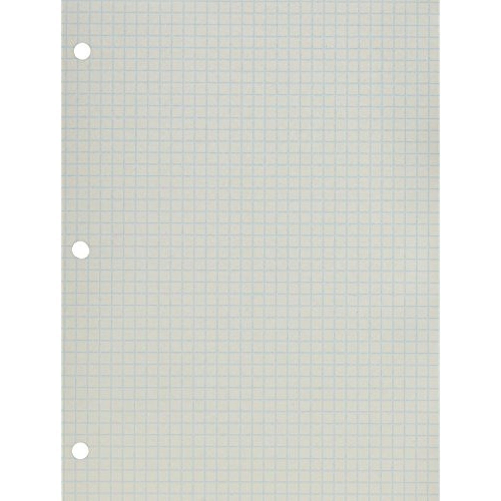 1 4 rule graph paper pack of 500 sheets double sided 3 hole school