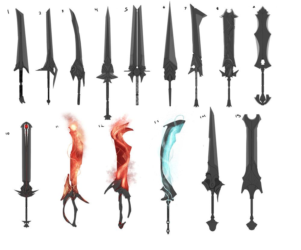 swords can have many different features such as being