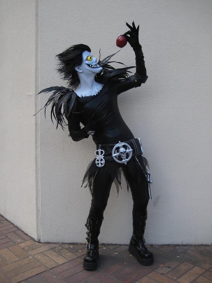shinigami ryuk costume - Google Search   Shinigami Ryuk ...