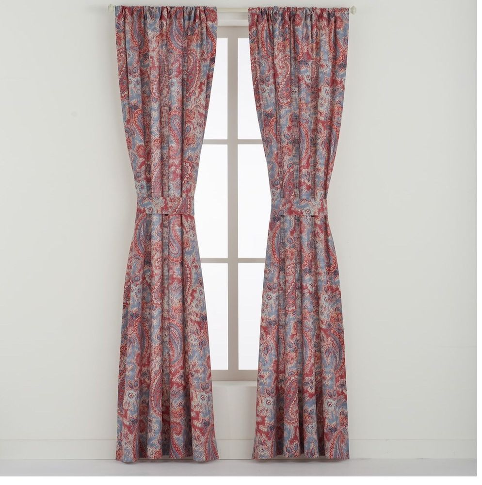 Chaps Ralph Lauren Wilmington Island Curtain Panels Drapery Window