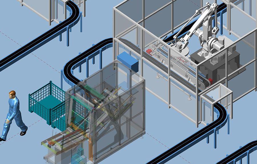 2d To 3d Factory Design Software Mpds4 Factory Layout In 2020 Factory Design Layout Software Design