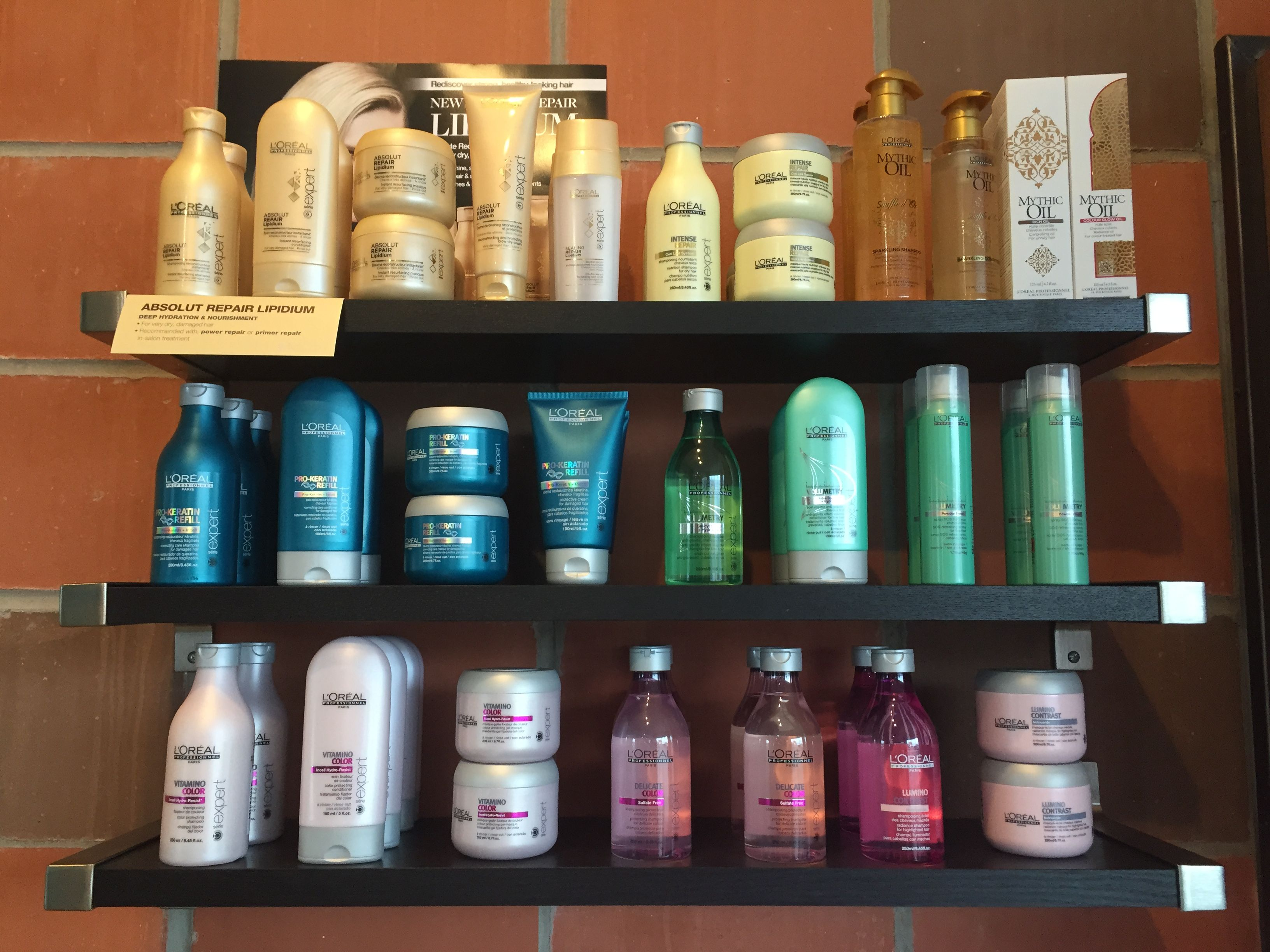The L Oreal Professional Serie Collection At Shag Salon Salons Hair Salon Hair Beauty