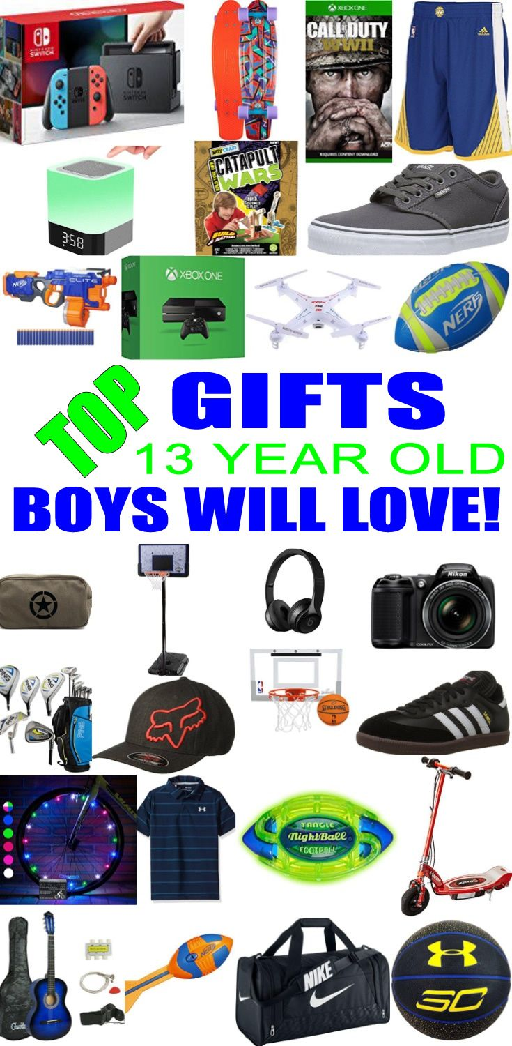 Top Gifts For 13 Year Old Boys Best Gift Suggestions Presents Thirteenth Birthday Or Christmas Find The Ideas A 13th Bday