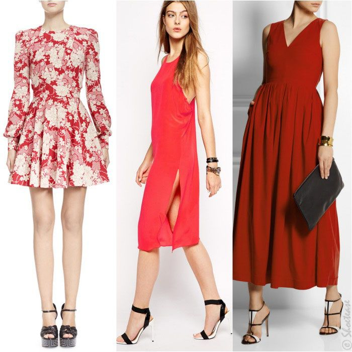 Best Picks: What Color Shoes to Wear with Red Dress | White shoes