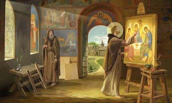 st. andrei rublev, iconographer