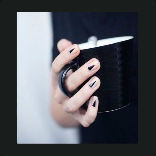 Black or White ? The Sophisticated Nail Polish Dilemma Solved ...
