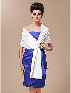 Wedding Wraps Shawls Women S Wrap Satin Silk White Party
