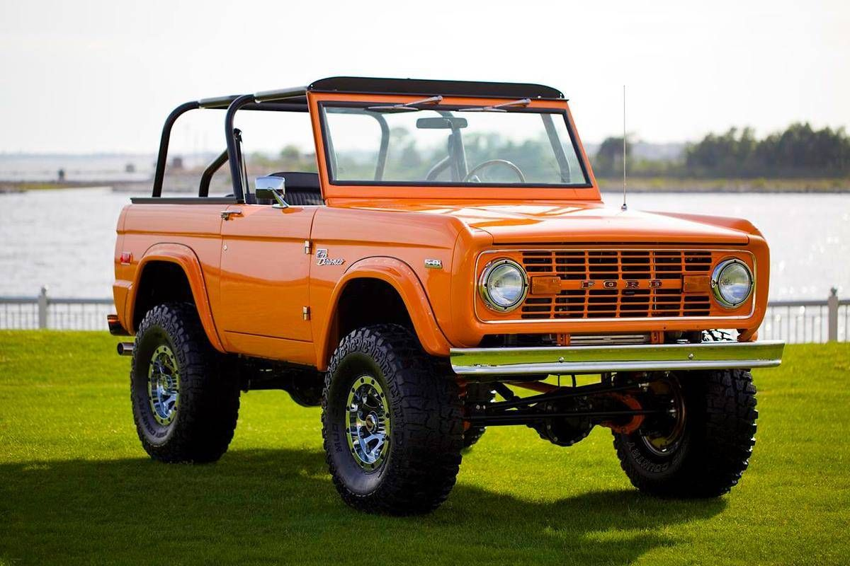1972 Ford Bronco Coyote Custom Build For Sale 1847045