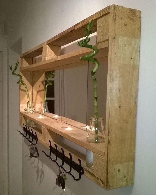 35+ Paletten Lagerung Möbel Mit Regal #palettengarten