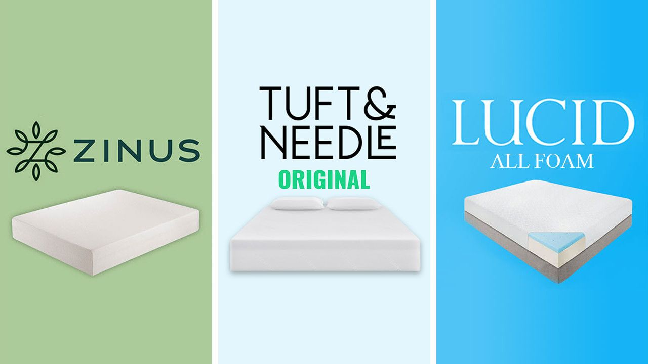 Zinus Vs Tuft And Needle Vs Lucid Mattress Review Comparison