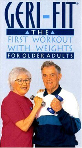 Geri-Fit Strength Training Workout for Older Adults dvd Original Workout with floorwork filmed in 1995 - http://www.exercisejoy.com/geri-fit-strength-training-workout-for-older-adults-dvd-original-workout-with-floorwork-filmed-in-1995/fitness/
