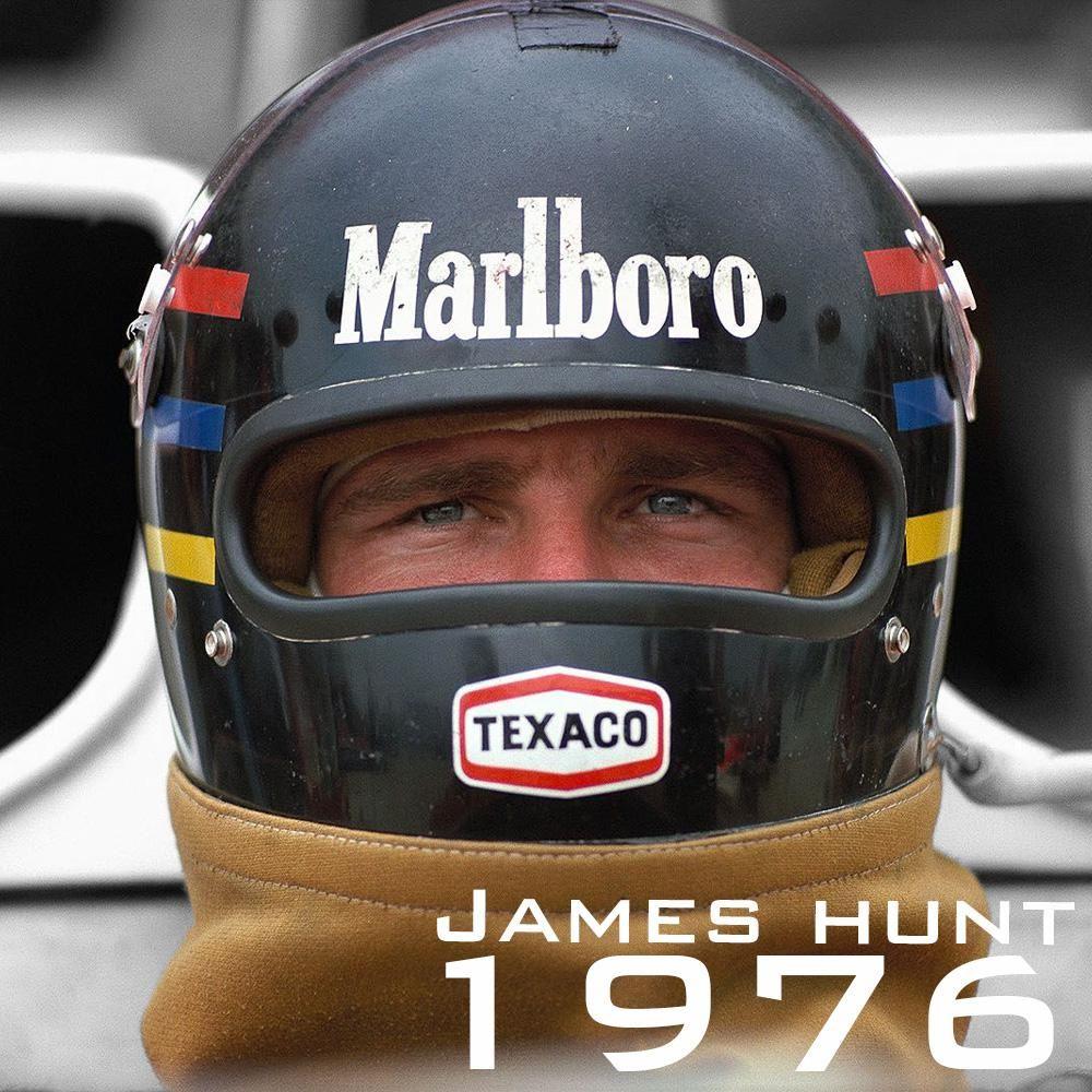 James Hunt 1976 James hunt, Vintage helmet, Hunt