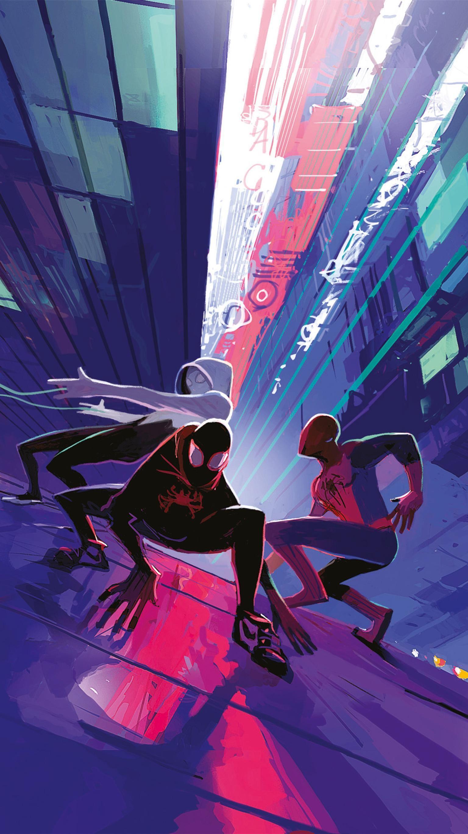 Spider-Man: Into the Spider-Verse (2018) Phone Wallpaper ...