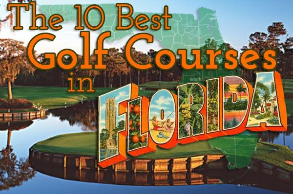 Escape the chill by visiting one of our 10 Best Golf Courses in Florida! #golf #travel #Florida
