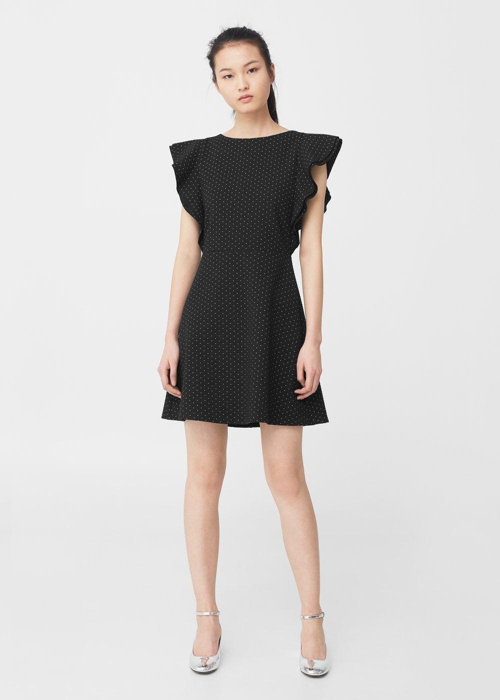 Strukturiertes Kleid, Volantsaum | Fashion 2017 | Pinterest ...