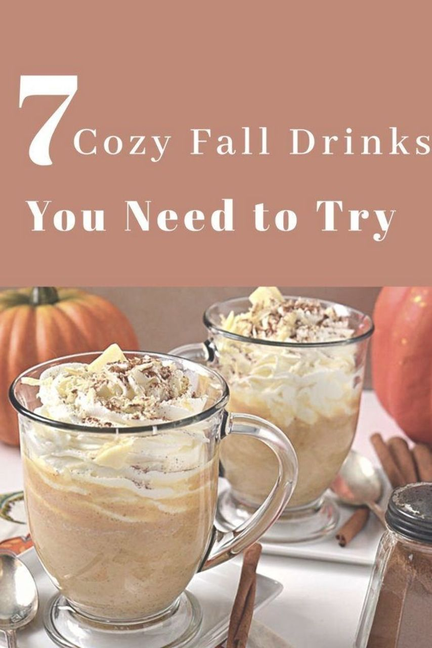 Here is a list of the best fall nonalcoholic drink recipes for kids and yourself...