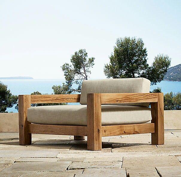 Restoration Hardware Outdoor Seating With Images Furniture Design Diy Sofa Furniture