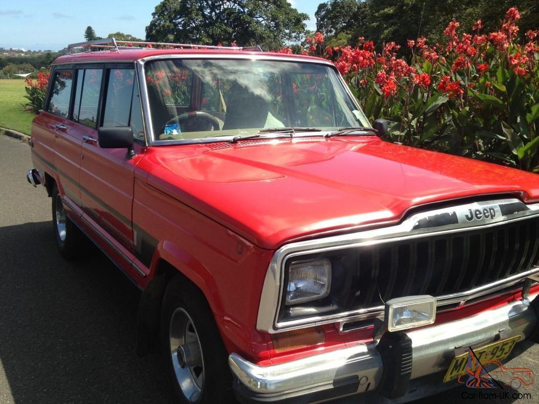 Jeep Cherokee Wagoneer Truck V8 Classic In Paddington Nsw