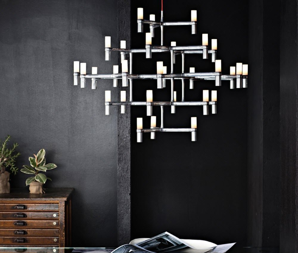 Crown Major Chandelier By Nemo Italianaluce For Lumens.