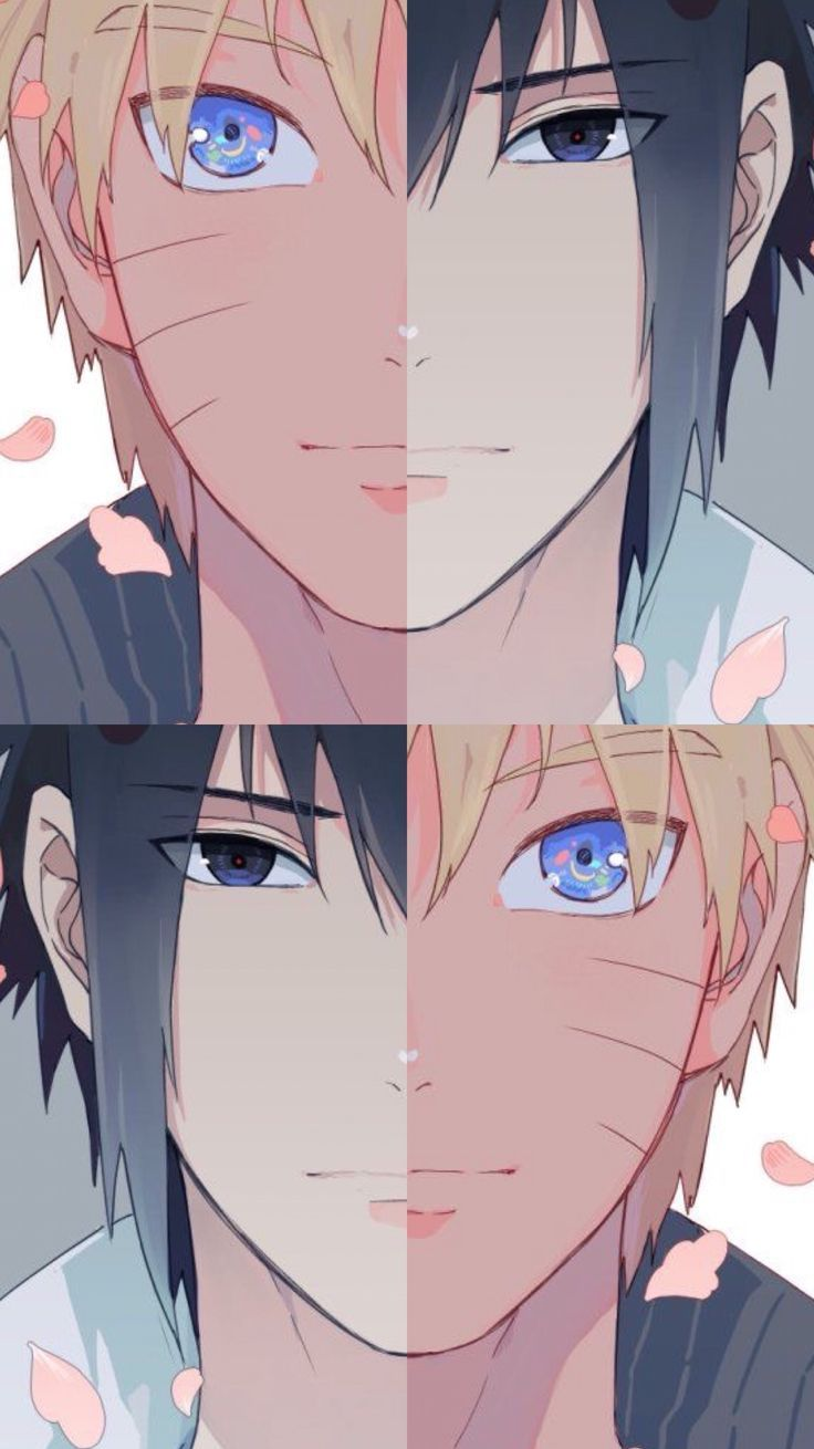 Photo of This image represents that phrase of Naruto well: Sasuke, we both … we are i ….