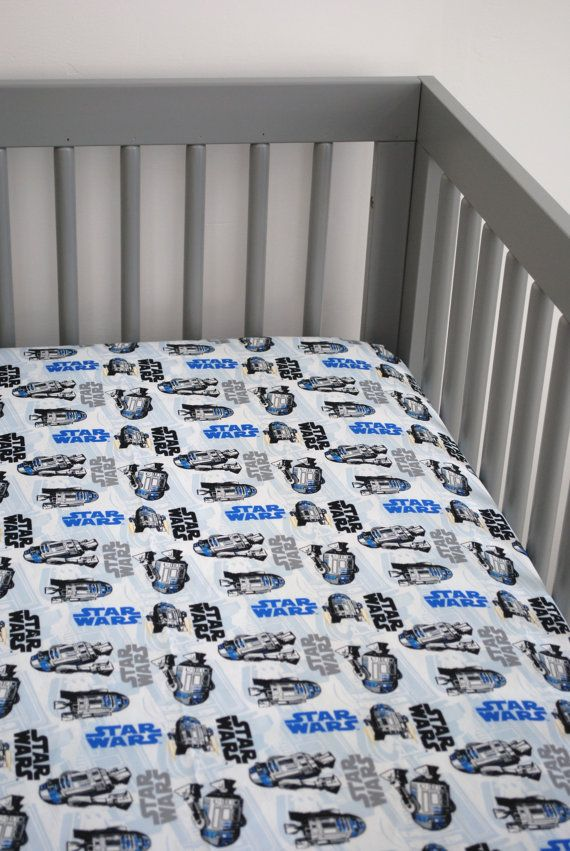 star wars crib sheet on etsy