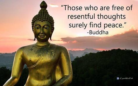 Those Who Are Free Of Resentful Thoughts Surely Find Peace Buddha Http Ift Tt 1onrvdq Buddha Buddha Image Statue