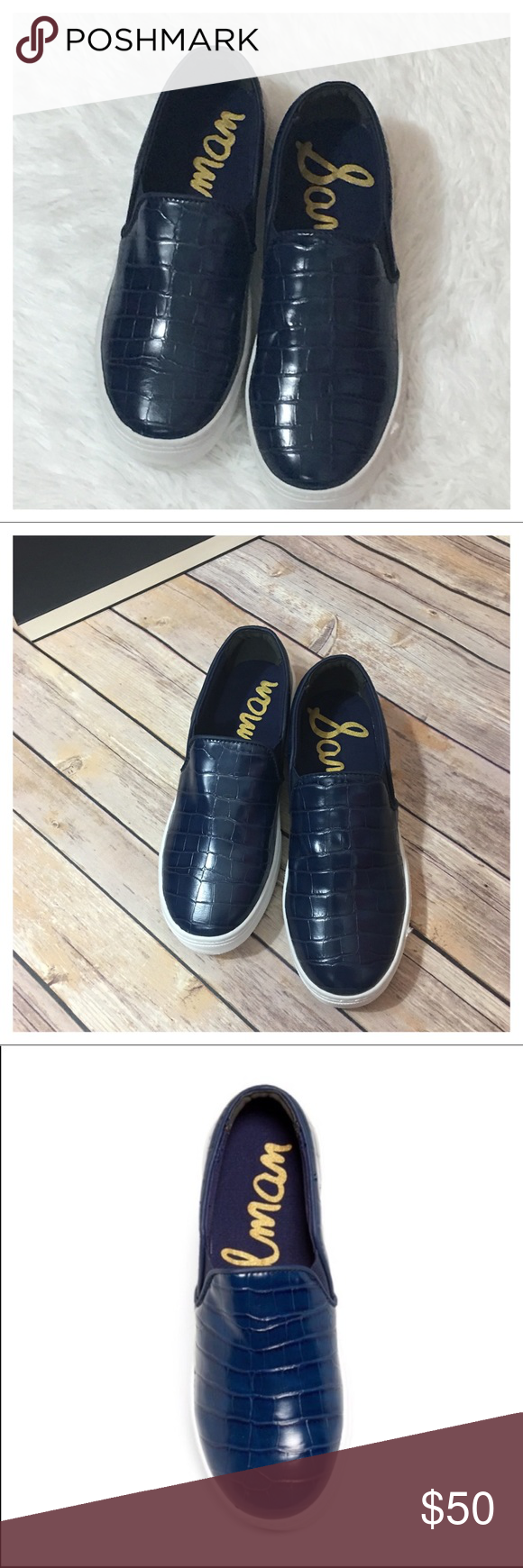 652ee0f638cd NWOB Sam Edelman Lacey Slip-On Platform Sneaker