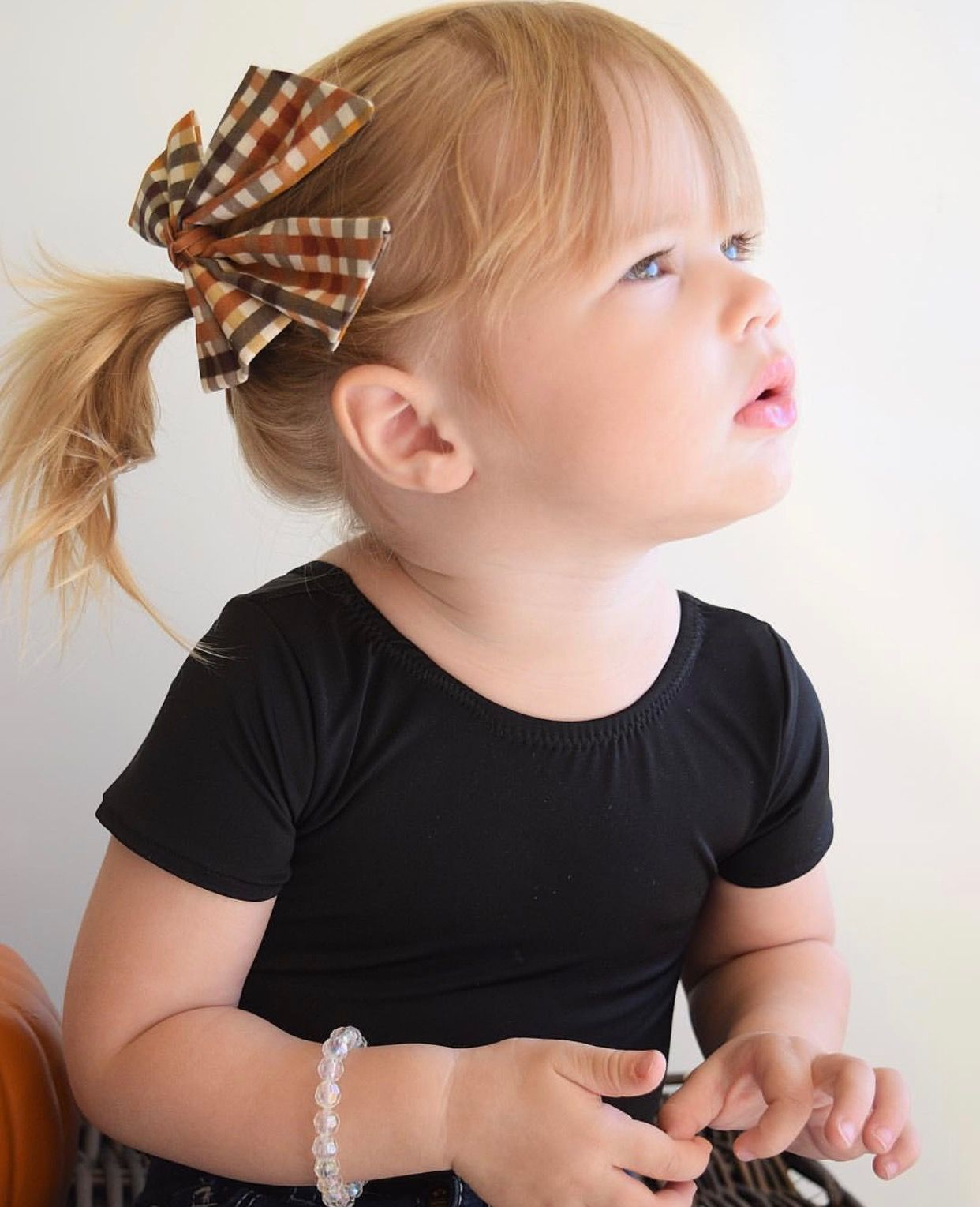 4f73be6811d Brown plaid hair bow, baby headband, little girls headband, toddler bow,  big baby hair bow, Mini Swag Textiles, girls suspenders, little girls  fashion, ...