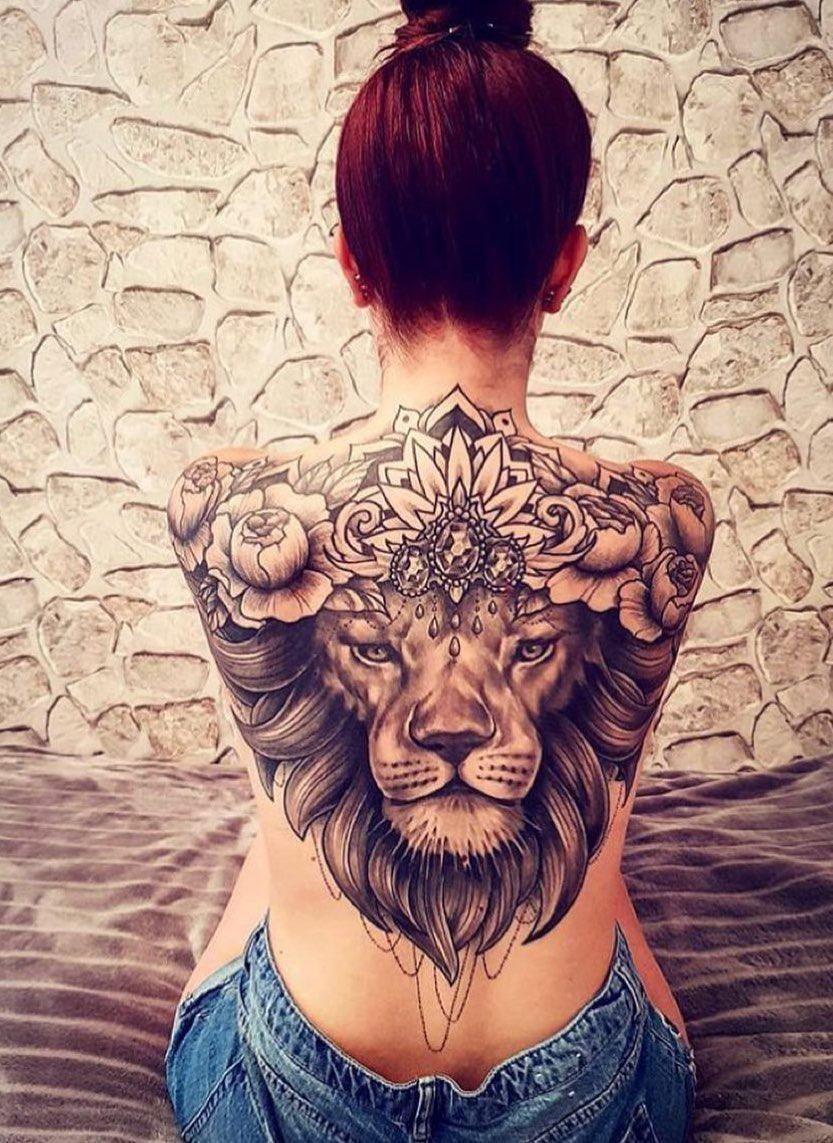 Girl Tattoos On The Back Ozilook Tattoo Smalltattoos