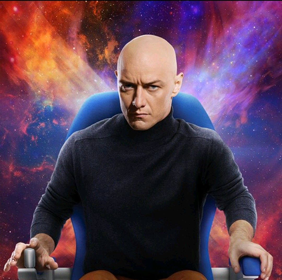James Mcavoy As Professor X In X Men Dark Phoenix Dark Phoenix Charles Xavier James Mcavoy
