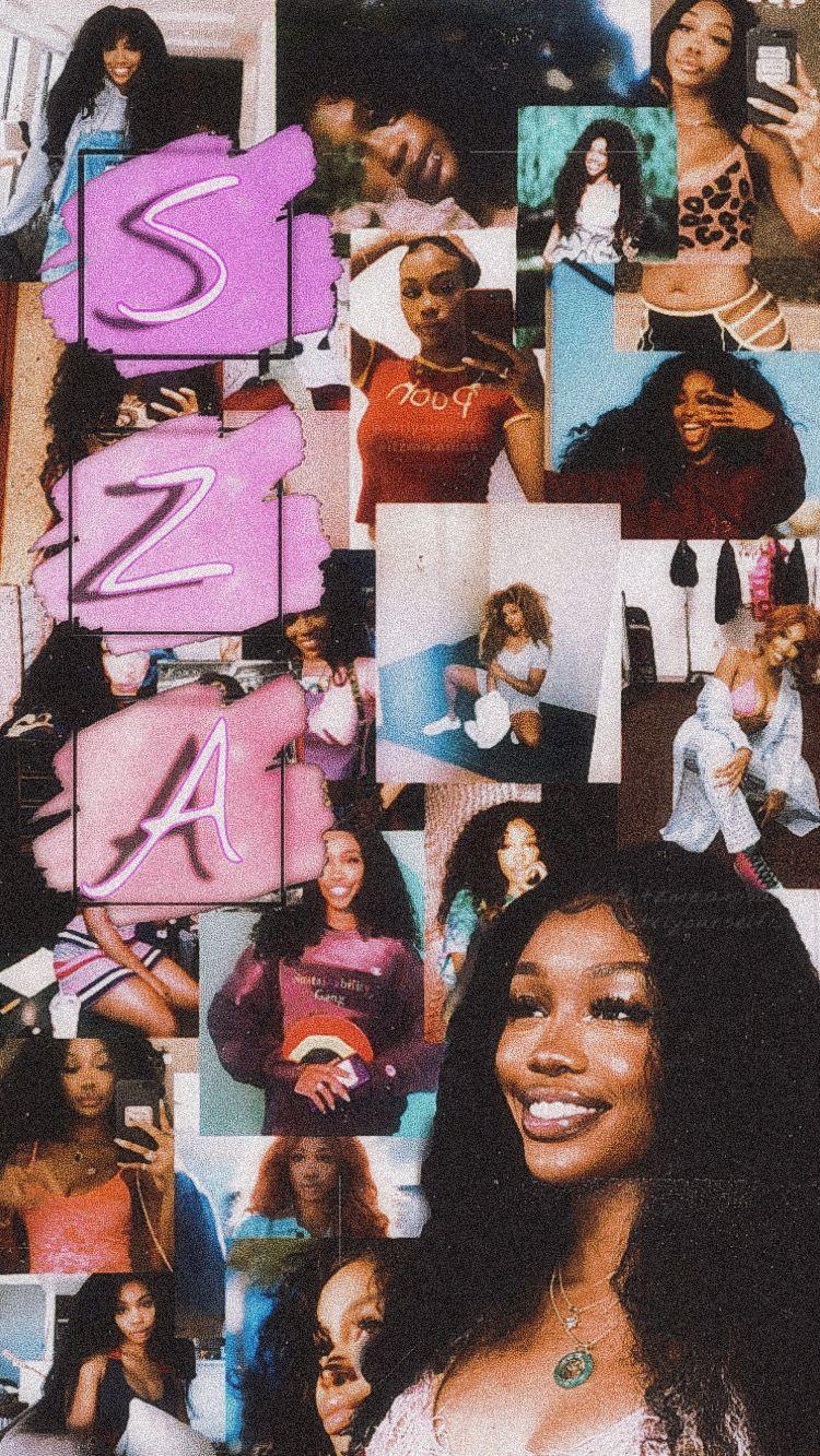 Sza Wallpaper Aesthetic Wallpaper Edgy Wallpaper Bad Girl Wallpaper Rapper Wallpaper Iphone