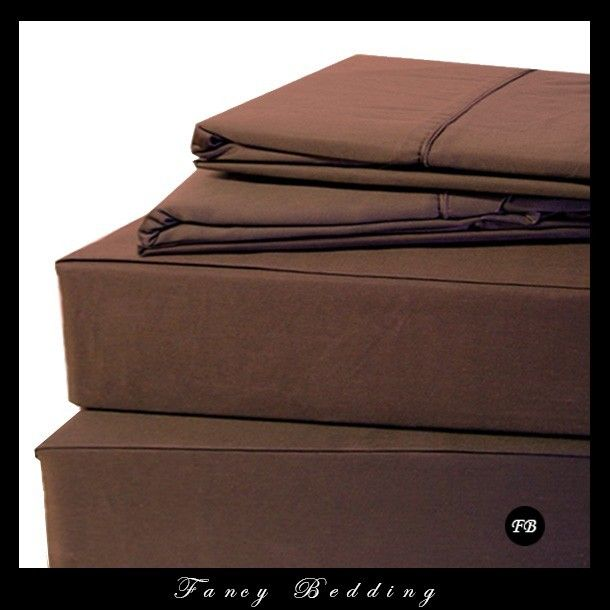 Super Single Chocolate Waterbed 3 Piece Sheet Set 300 Thread Count These Super Single Waterbed Sheets Are Made