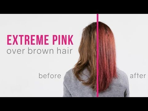 Add Pink To Brunette Strands To Get Burgundy Oil Slick Hair Slick Hairstyles Overtone Hair Color