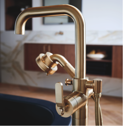 The Ultimate Guide To Luxury Plumbing The Delight Of Design Freestanding Tub Filler Free Standing Tub Tub Filler