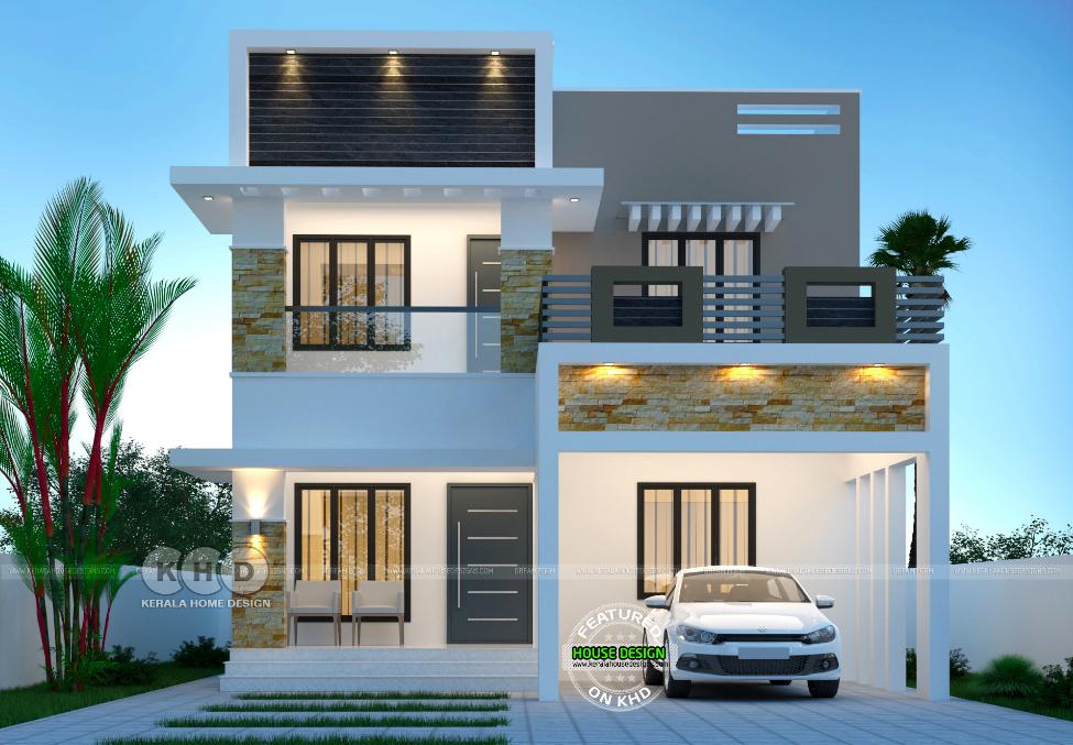 Top 7 Kerala Houses Design By Dream Homes Kerala House Design Bungalow House Design Duplex House Design