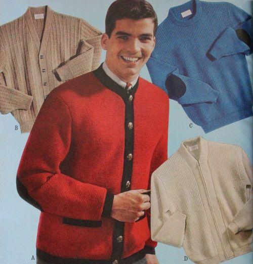 60s 70s Men S Jackets Sweaters Mens Fashion Cardigan Knitwear Men Retro Sweater